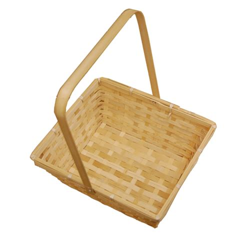 New Arrival Bna Bag Top Handle 2268 swing handle bamboo basket large the lucky