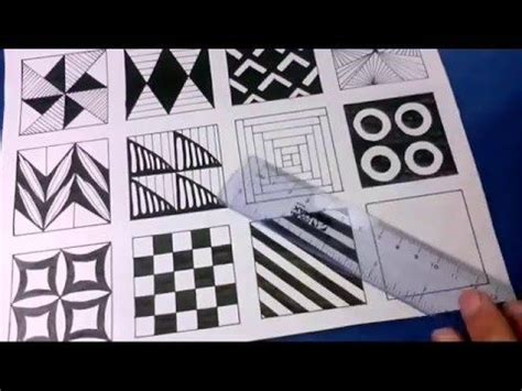 doodle patterns youtube 19 best images about 6 zentangle mini s on pinterest