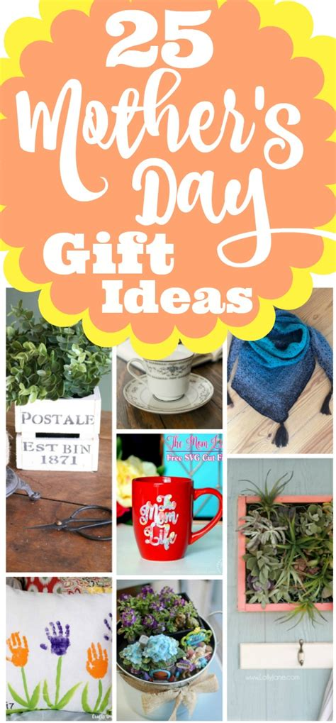 25 gift ideas 25 awesome diy mother s day gift ideas home with