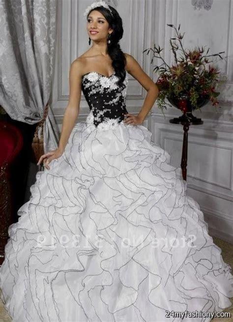 Black Sweet Style Dress N0264 sweet 16 dresses white and black 2016 2017 b2b fashion
