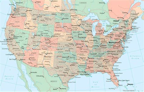 us wall map with interstates us county wall map with highways
