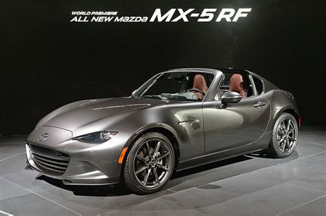 Mx 5 Miata Rf by Mazda Mx 5 Rf 2016 2017 цена фото видео комплектации