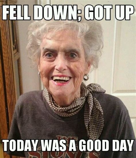 Meme Grandma - good day grandma meme guy