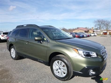 subaru green 2017 wilderness green metallic subaru outback 2 5i premium