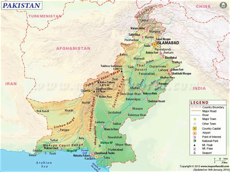 where is pakistan on the map accessibility pearl tours travel