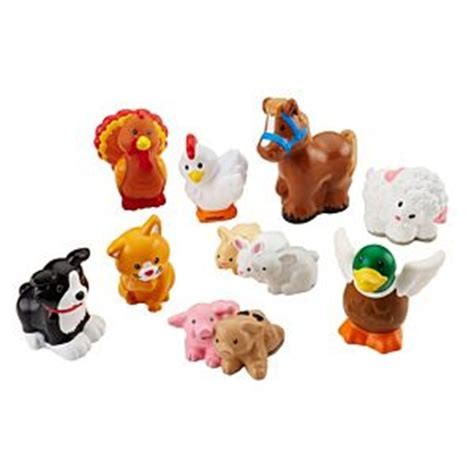 fisher price farm animal swing little people farm animals dfn55 fisher price