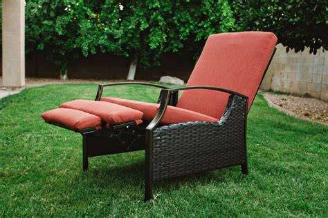 recliner garden chair best value outdoor wicker recliners the best recliner