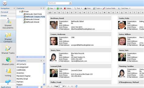 Search Business By Address Hyperoffice Web Address Book Organize Contacts