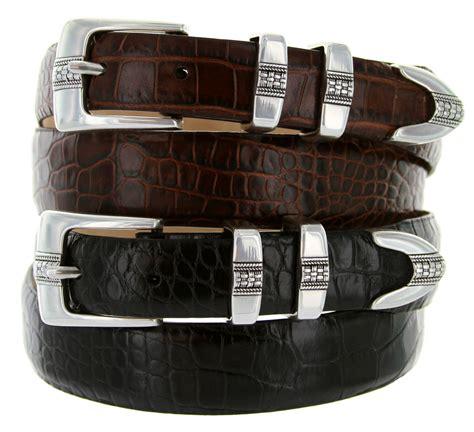 miller s italian leather designer dress belt