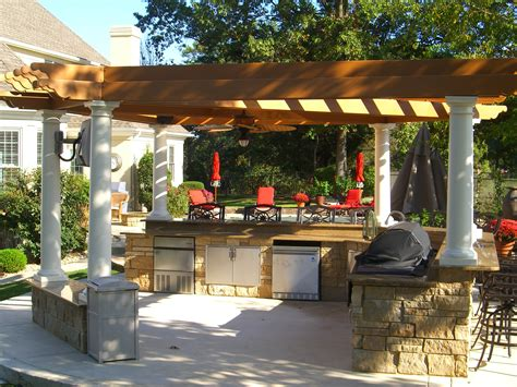 Outdoor Kitchen Pergola Ideas by Pergolas Tejaban On Pinterest Pergolas Covered Patios