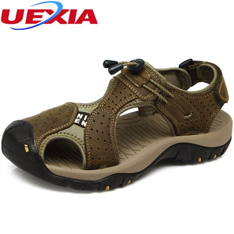 Promo Sandal Branded Wanita Burberry High Quality brand toe protect outdoor casual driving sandals flat quality summer leather soft sole