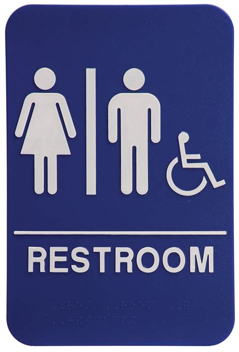 Ada Bathroom Sign by Allstar Awards Trophies Plaques And Engraving For All