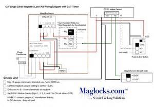 ga single door magnetic lock kit by maglocks for 381 86