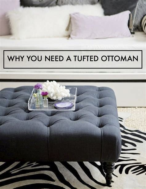 why is an ottoman called an ottoman why you need a tufted ottoman the decorista