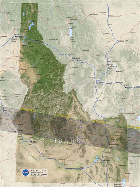 map of oregon eclipse solar eclipse in eastern idaho august 21 2017