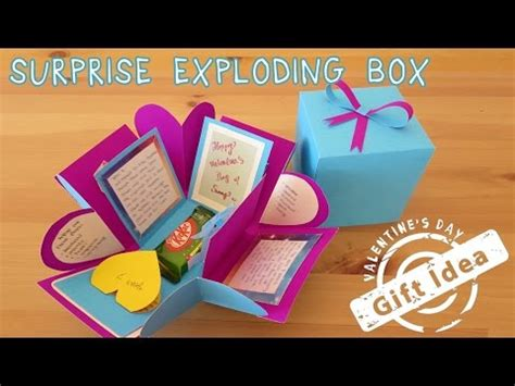 Origami Birthday Box - birthday explosion box origami cards hd