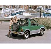Suzuki Vitara Generations Technical Specifications And