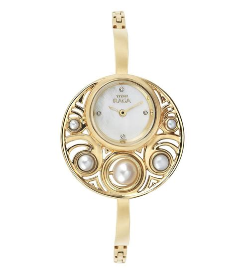 titan gold plated womens 9972ym01 price in india
