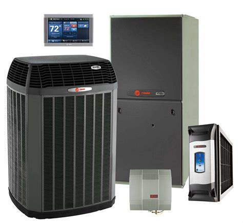 trusted comfort heating and cooling fred s heating and air trane products