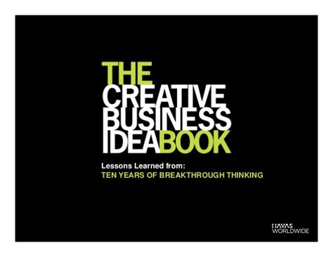 Lessons Learned From Years With Businesses by The Creative Business Idea Book Lessons Learned From Ten