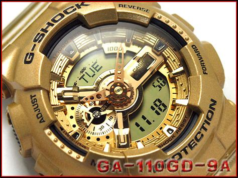 Casio G Shock Ga 110gd 9adr by 楽天市場 Ga 110gd 9adr G Shock Gショック ジーショック Gshock カシオ Casio