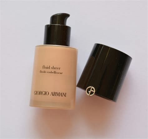 Harga Giorgio Armani Fluid Sheer giorgio armani fluid sheer 7 review