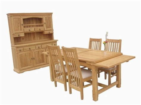 Dining Table And Buffet Hutch China Dining Table Chair Buffet Hutch Oak407 Oak5899