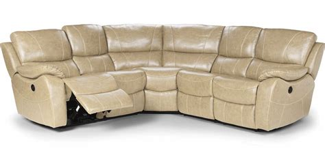 Corner Leather Recliner Sofa Cream Leather Corner Sofas