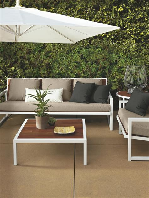room and board outdoor furniture add contemporary style to your patio hgtv design design happens