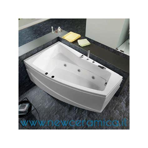 greta doccia vasca idromassaggio asimmetrica greta 170x100x55 relax design