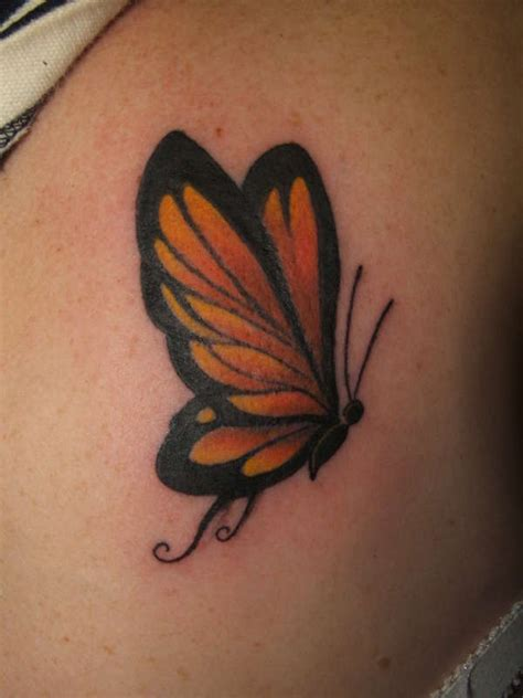 butterfly gun tattoo after the finished work by butterfly tattoo