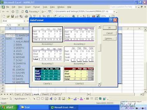 excel tutorial in malayalam excel part 01 2 malayalam kerala avi malayalam tutorial