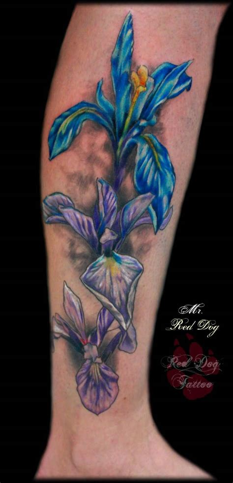 iris tattoo 40 wonderful iris flower tattoos