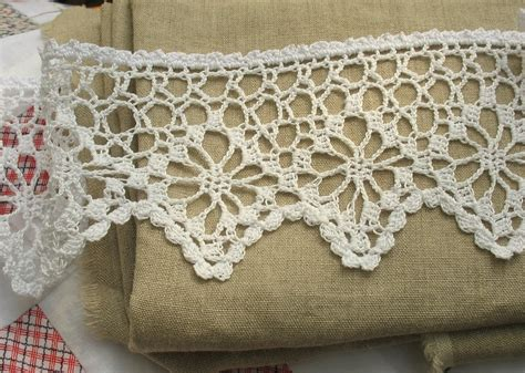 Amy Brumley Crocheted Lace Curtains