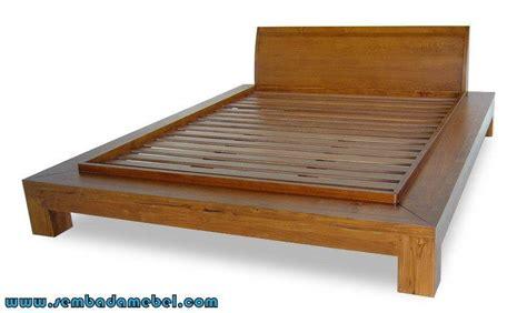 Ranjang Kayu No 1 jual ranjang kayu jati minimalis tempat tidur minimalis