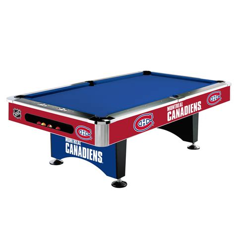 Pool Tables 8ft by Montreal Canadiens 174 8 Ft Pool Table