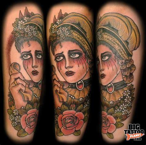 brightside tattoo amina bright side the snail palace colour