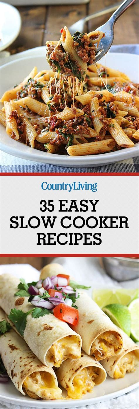 40 easy slow cooker recipes for busy nights best crock 50 easy slow cooker recipes for busy fall nights tables