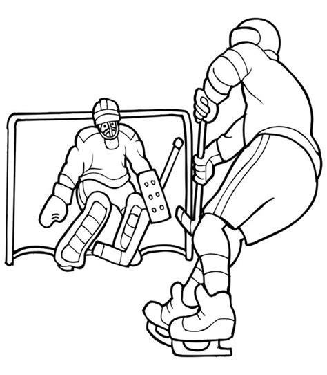 hockey net coloring pages coloriage hockey les beaux dessins de sport 224 imprimer