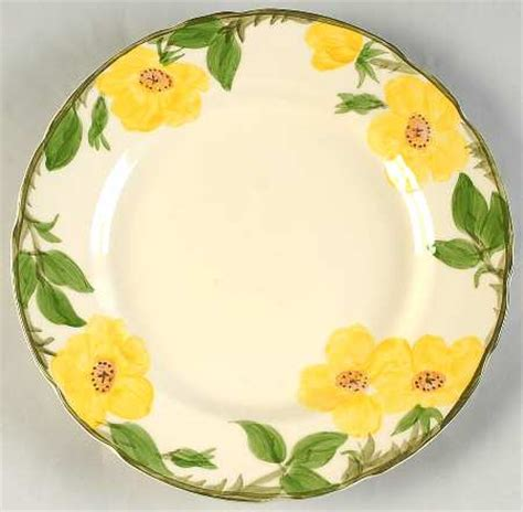 yellow rose pattern dishes franciscan meadow rose at replacements ltd page 1