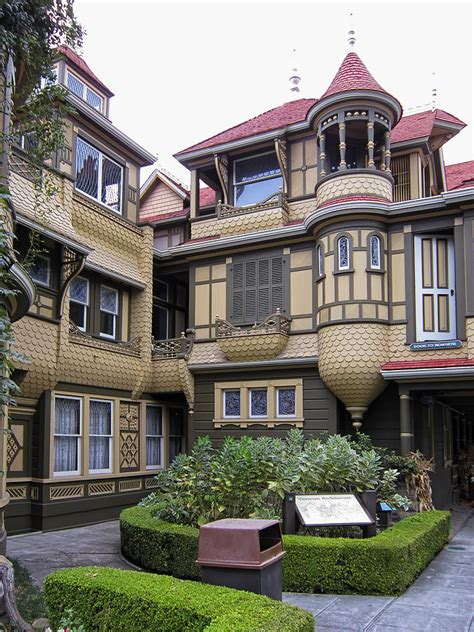 Victorian Mansion Plans by Winchester House Door To Nowhere Photograph By Daniel