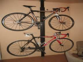 decoration wall mount bike rack with ceramic floor brown