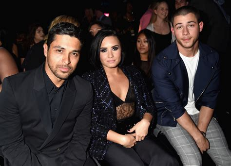 demi lovato et wilmer valderrama nick jonas says the timing of demi lovato and wilmer