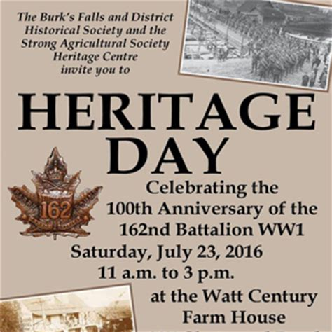 the dreaded invite how i took back at my delusional family books heritage day almaguin highlands tourism
