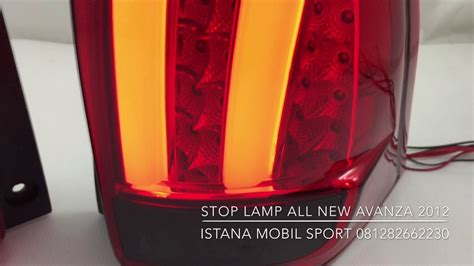Lu Led Mobil All New Avanza Review Stop L All New Avanza 2012 2015