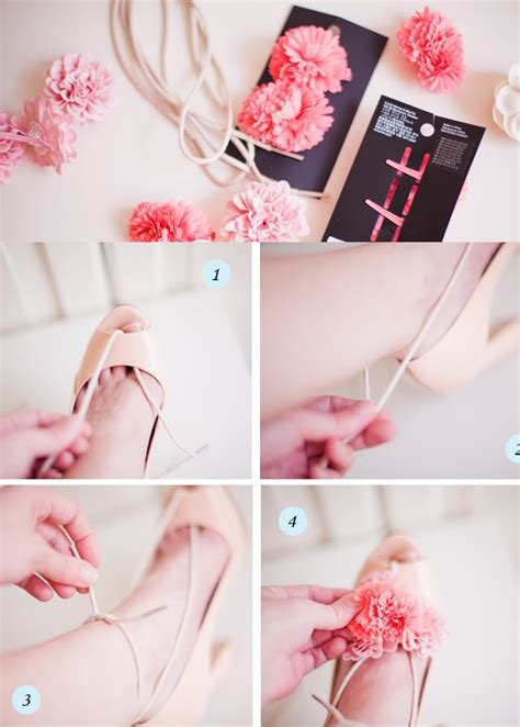 diy flower shoes easy to make diy shoes