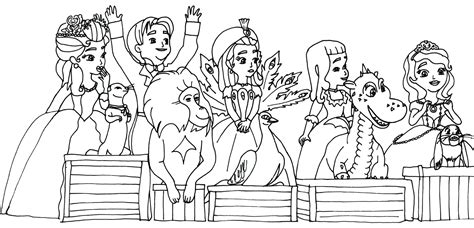 princess vivian coloring pages sofia the first coloring pages april 2014