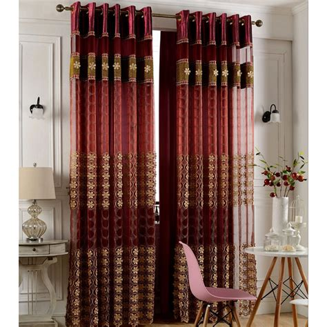 wine color bedroom faux silk wine color insulated blackout curtain living room