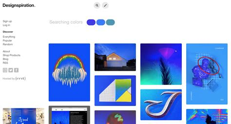 designspiration search by color essential color tools for ux designers ux planet