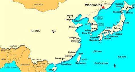 vladivostok on world map vladivostok russia discount cruises last minute